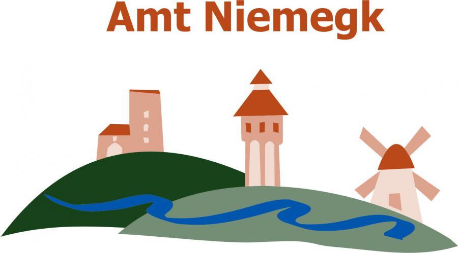 Logo Amt Niemegk mit Schrift