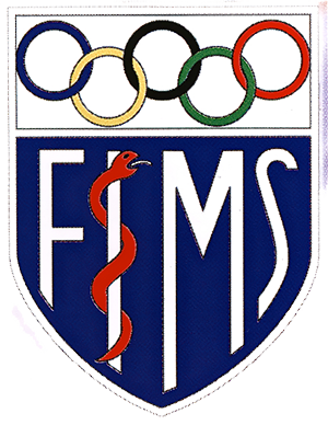Logo der Fédération Internationale de Médecine du Sport