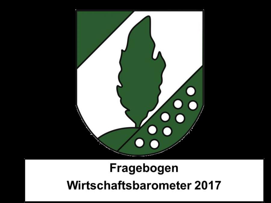 Logo Fragebogen Wirtschaftsbarometer