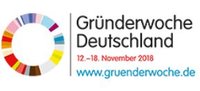 Logo Gründerwoche 2018