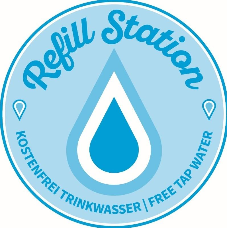 Logo & Symbol einer offiziellen Refill Station