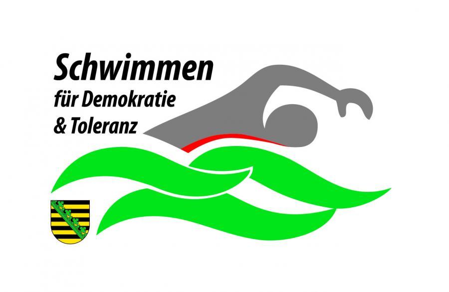 Schwimmen für Demokratie und Toleranz