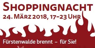 Logo Shoppingnacht 2018