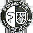 Logo des Sportärztebundes Rheinland-Pfalz