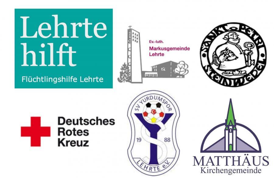"""Logos der Träger von """"Lehrte hilft"""""""