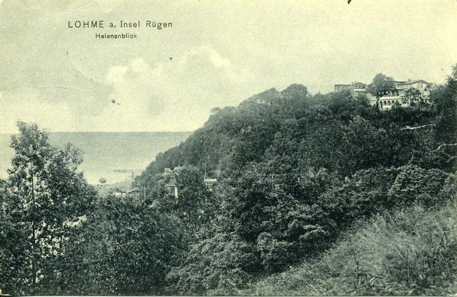 Lohme a Insel Rügen Helenenblick
