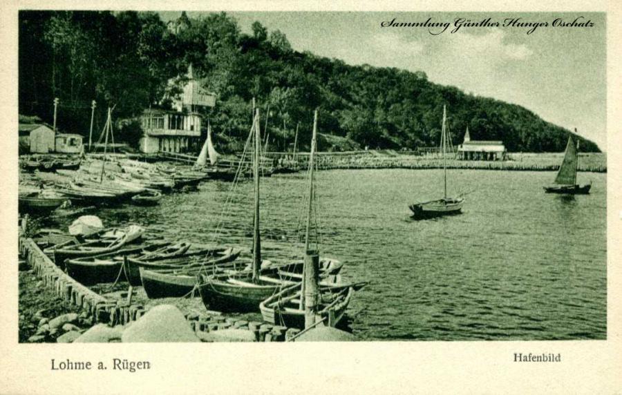 Lohme a. Rügen Hafenbild
