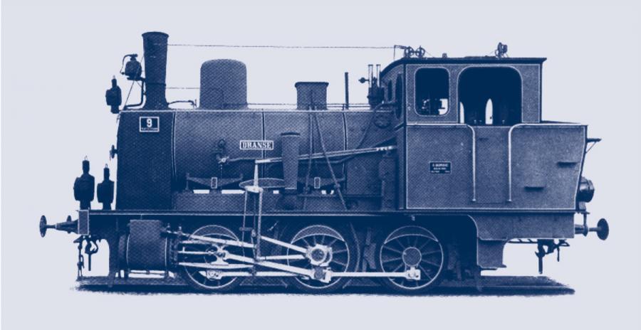 Lok der Prignitzer Eisenbahn
