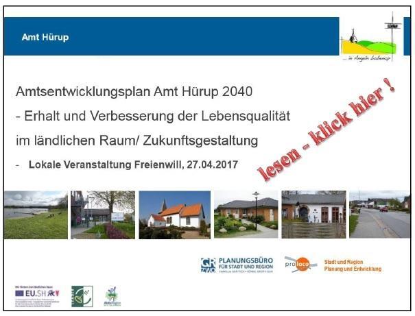 Lokale Veranstaltung Freienwill 27.04.2017
