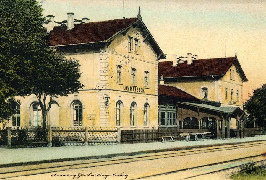 Lommatzsch Bahnhof
