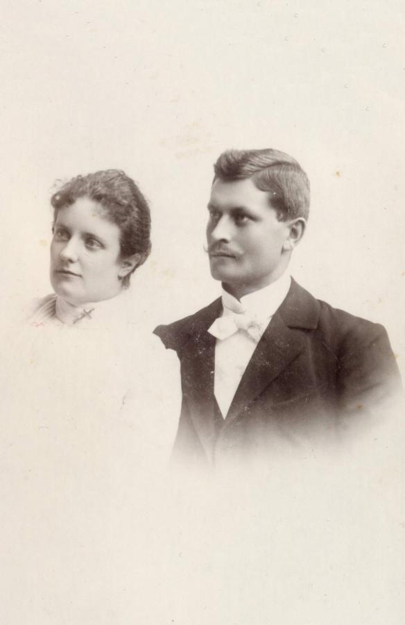 Lonny & Alfred Richter 1903, ©Stephan Becker, Brüssow