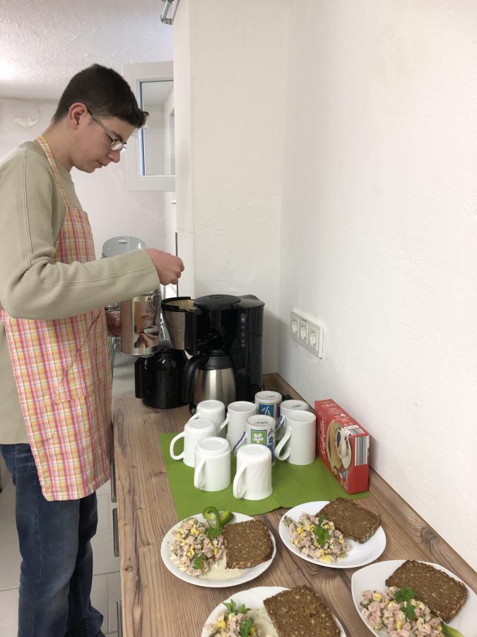 Vorbereitung der Getränke