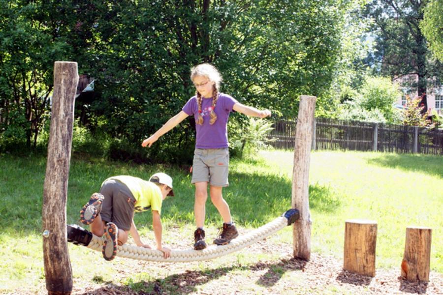Luchsparcour im Wanderpark- Spielplatz