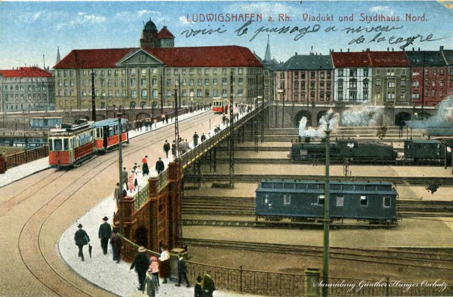 Ludwigshafena.Rh Viadukt