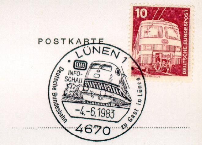 Tag der offenen Tür in Lünen 1983
