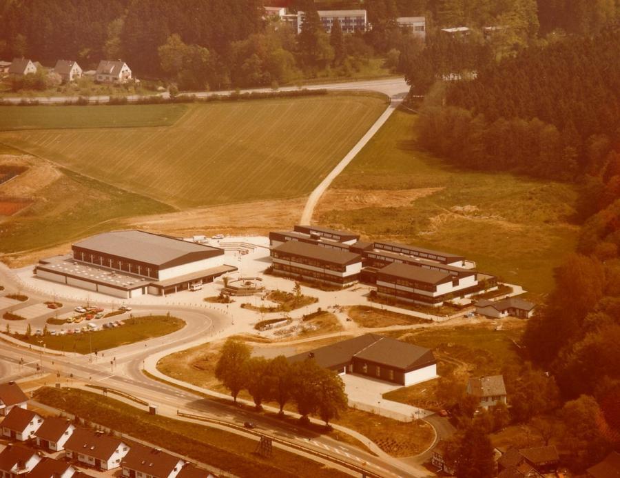 Luftbild Schulzentrum