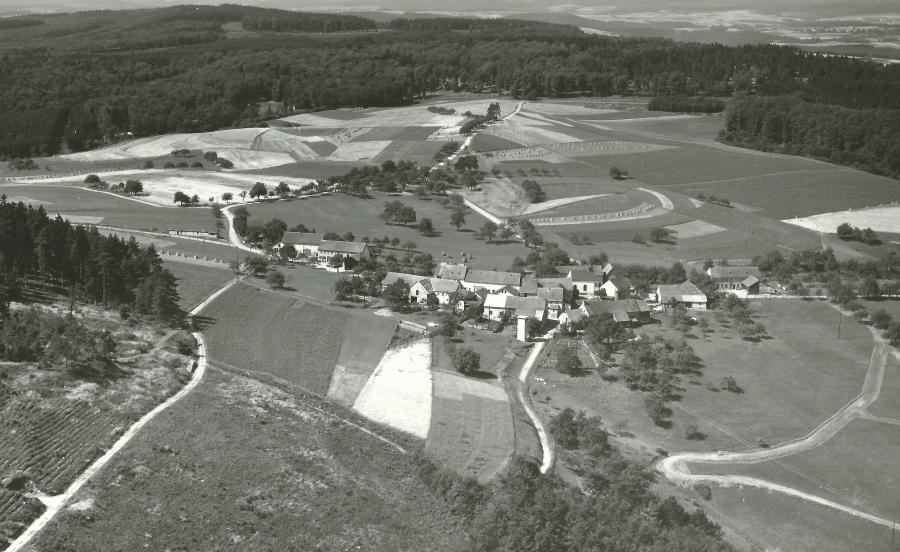 Luftbild 1954