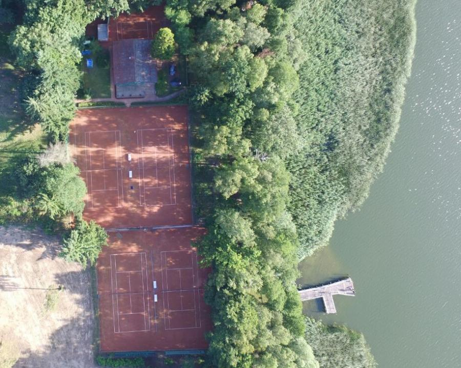 TCW - Tennisanlage aus der Luft