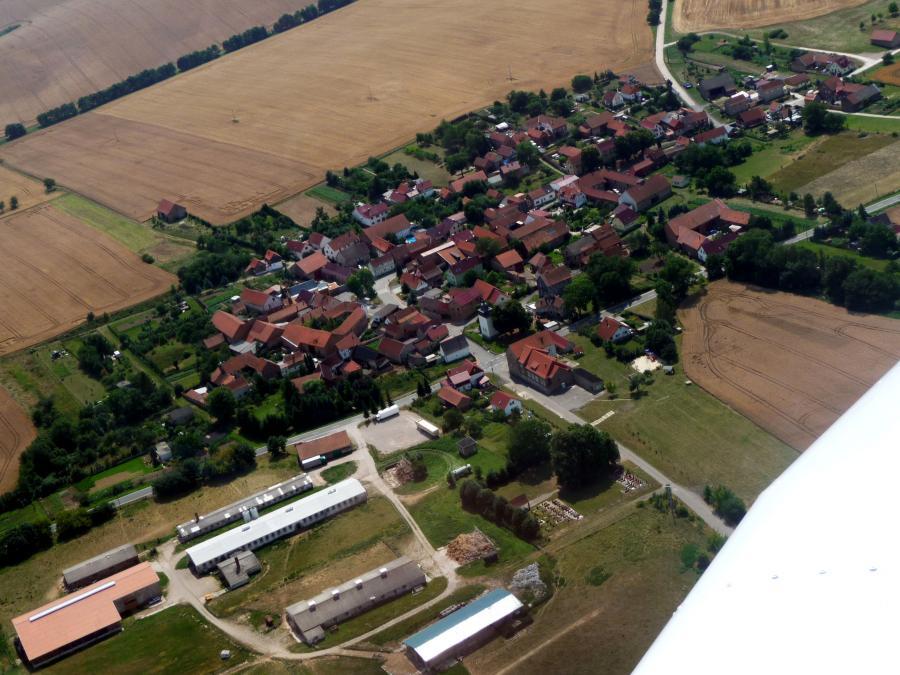 Luftbild der Gemeinde
