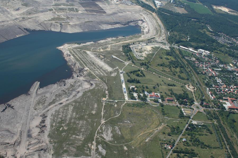 Luftbild Hafen 2009