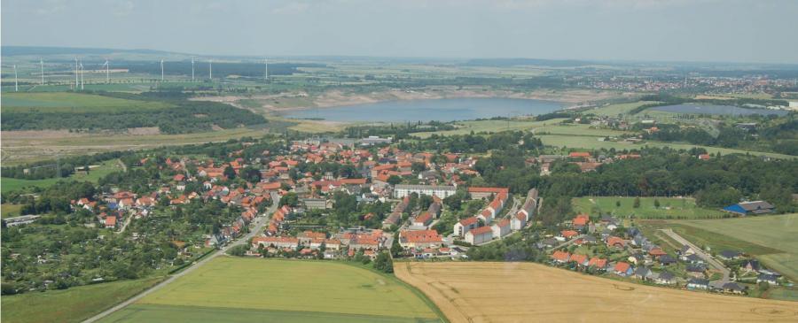 Luftbild von Harbke 2012