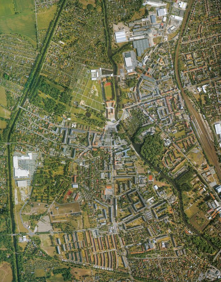Luftbild von Oranienburg (2009)