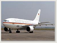 Luftwaffe A310 10+21 VIP Konrad Adenauer