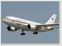 Luftwaffe A310 10+22 VIP Theodor Heuss