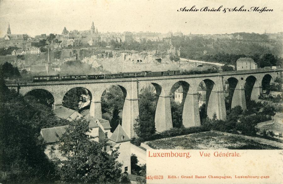 Luxembourg  Vue Ge´ne`rale