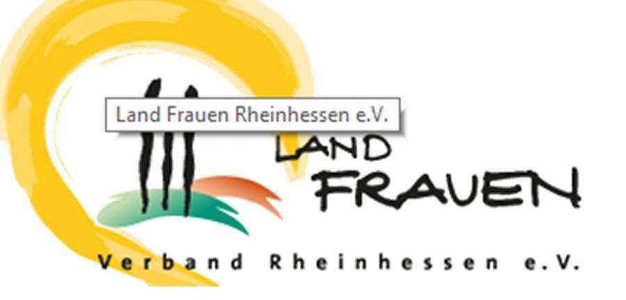 Logo LandFrauen Verband Rheinhessen