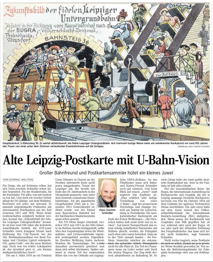 LVZ 31.12.2014 H.-J.Schindler Leipzig