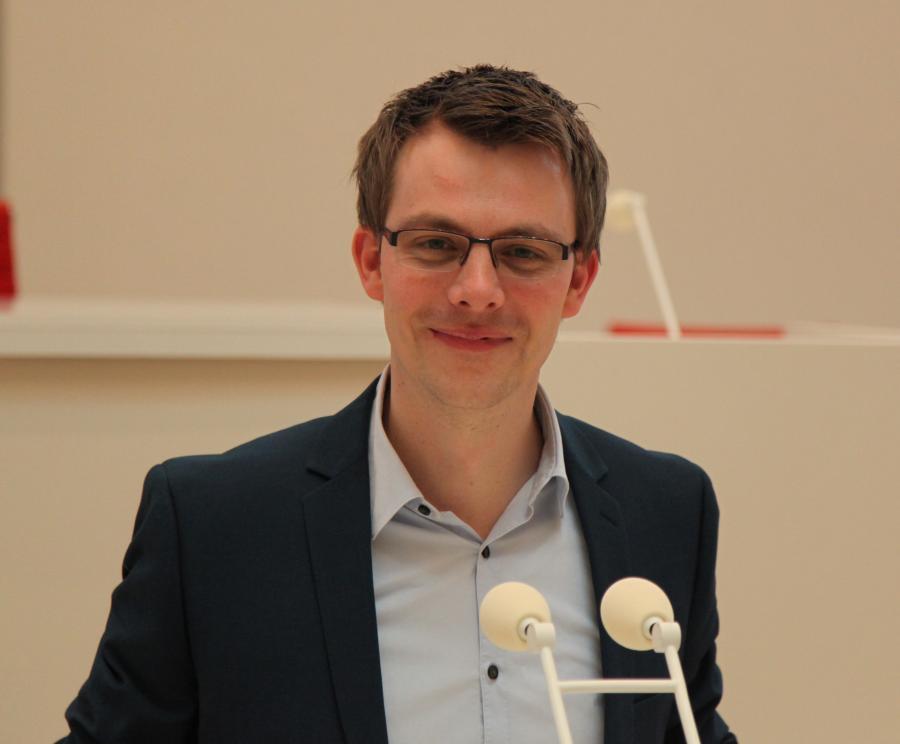 Ausschuss-Vorsitzender Marco Büchel, MdL; Bildrechte: Marco Büchel