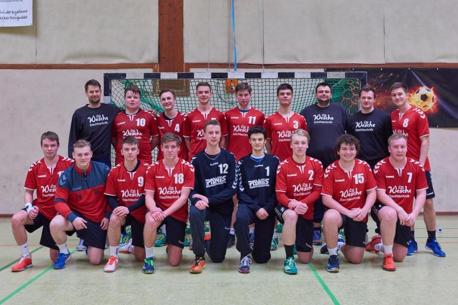 Mannschaftsfoto der MA-Jugend (Saison 2017/18)