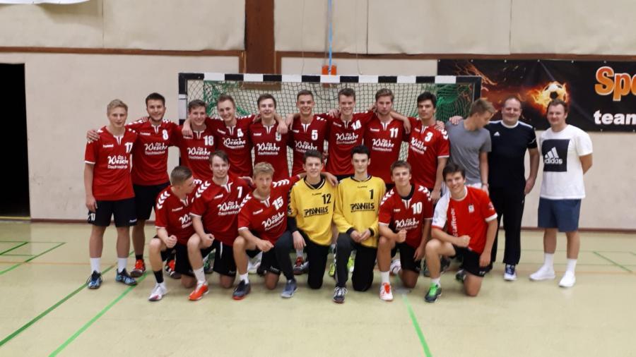 Mannschaftsfoto der MA-Jugend (Saison 2018/19)
