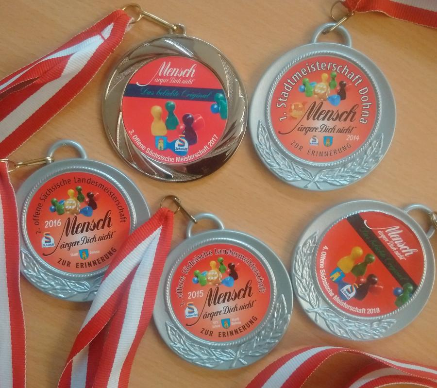 MÄDN-Medaillen 1-5