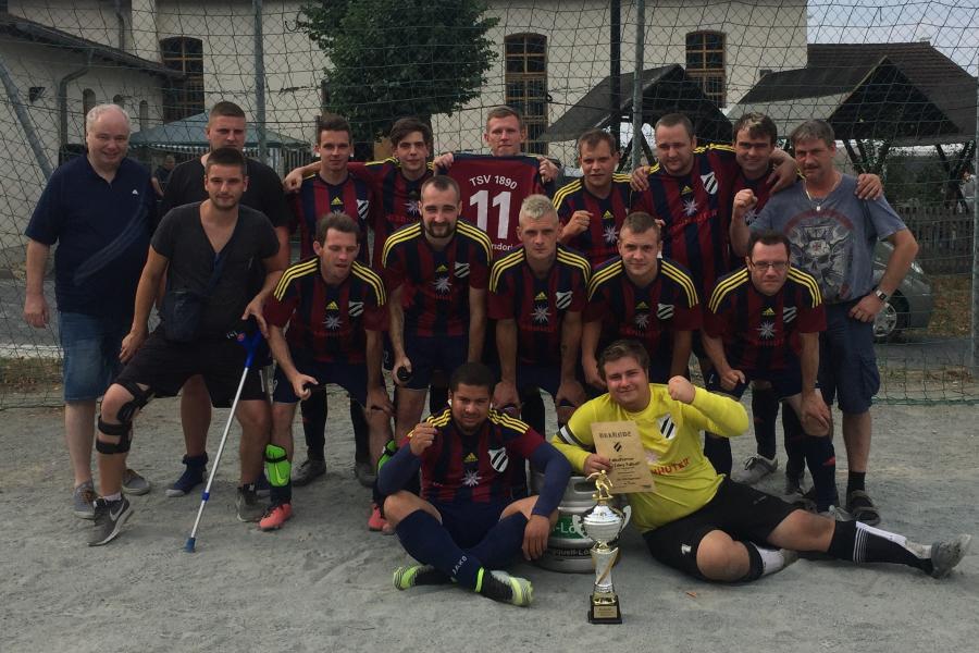 Männermannschaft 2018/19; Foto: Steffen Dummer