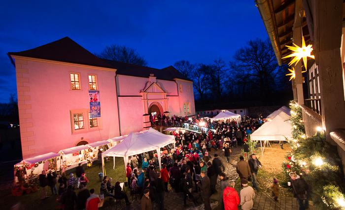 Märchenhafter Weihnachtsmarkt Foto- Museum OSL