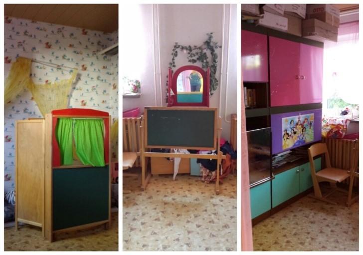 Märchenzimmer vorher