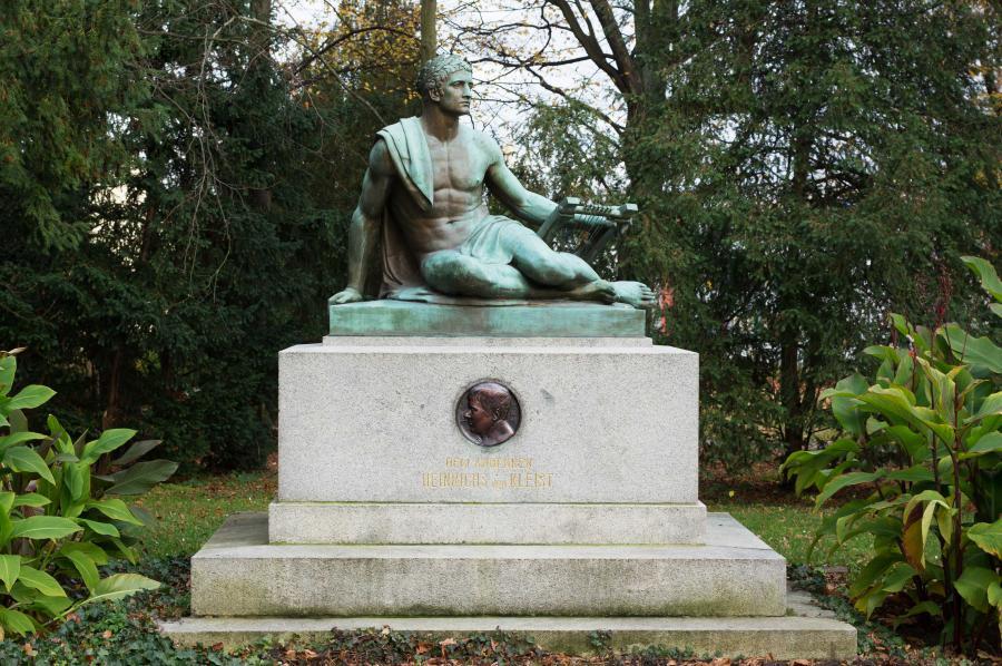 Heinrich von Kleist Denkmal im Anger