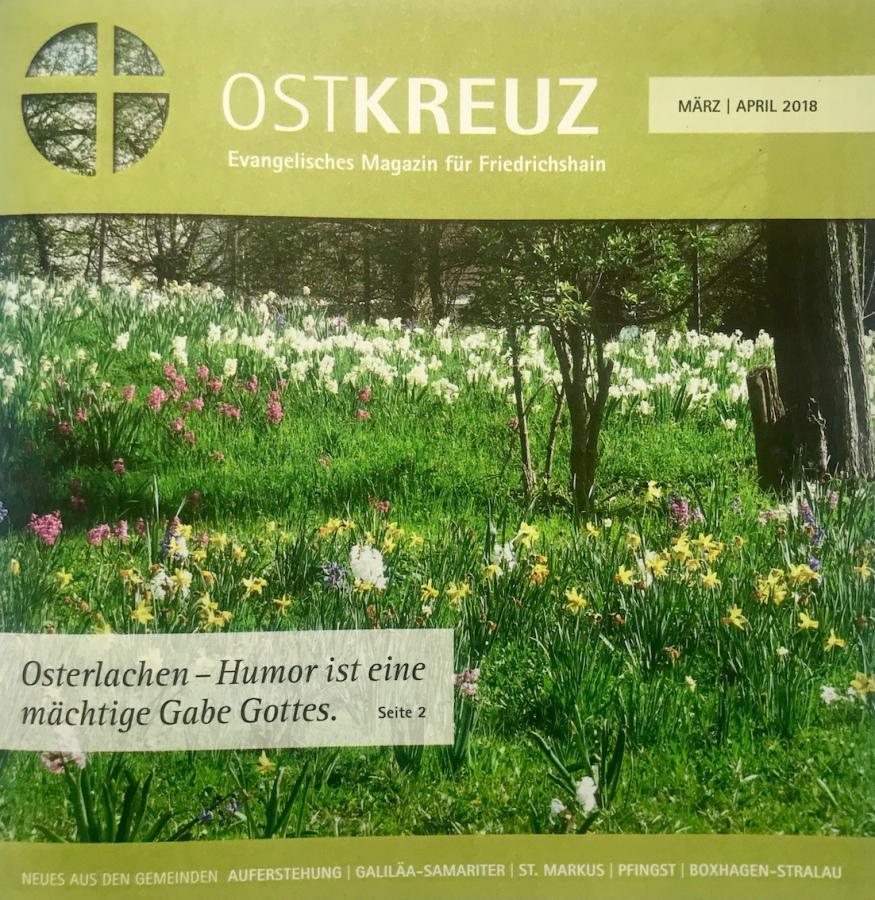 Titelseite der März-April-Ausgabe