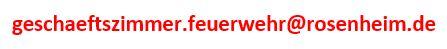 E-Mail Feuerwehr Rosenheim