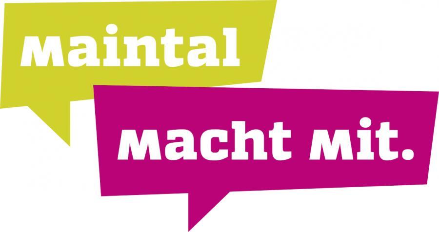 Externer Link zur Beteiligungsplattform Maintal macht mit; Bild zeigt das Logo von Maintal macht mit