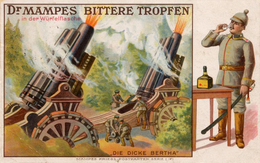 Carl Mampe Postkarte 3