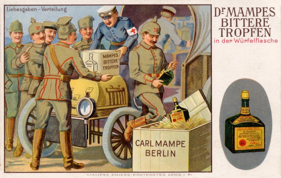 Carl Mampe Postkarte 2
