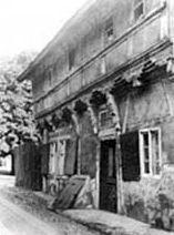 Ältestes Haus historische Aufnahme