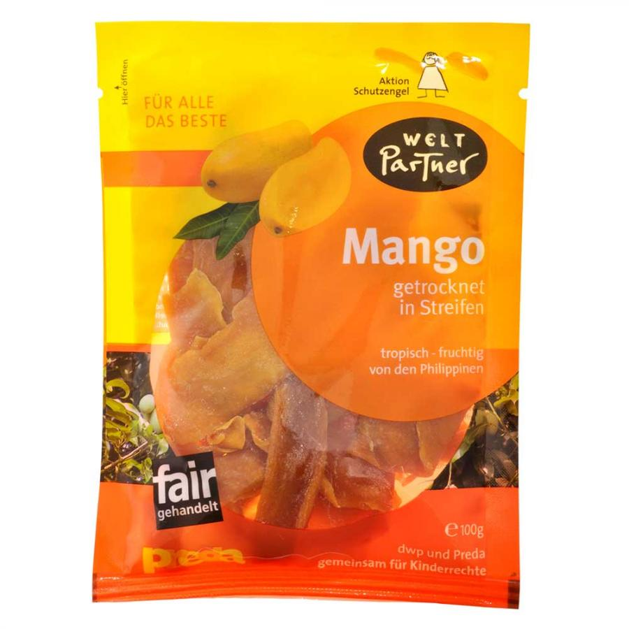 Mango getrocknet, gezuckert