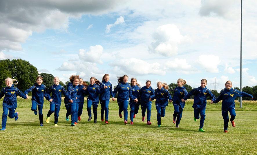 Die Siegerinnen der Herzen - mit Mädchenpower in die neue Saison