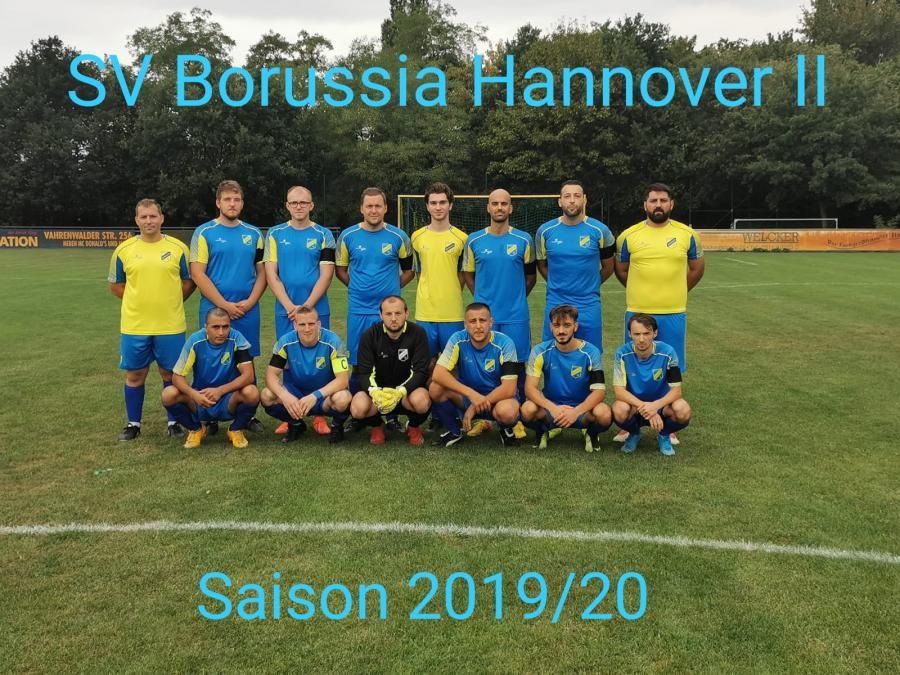 Mannschaftsfoto 2 Herren 2019-2020