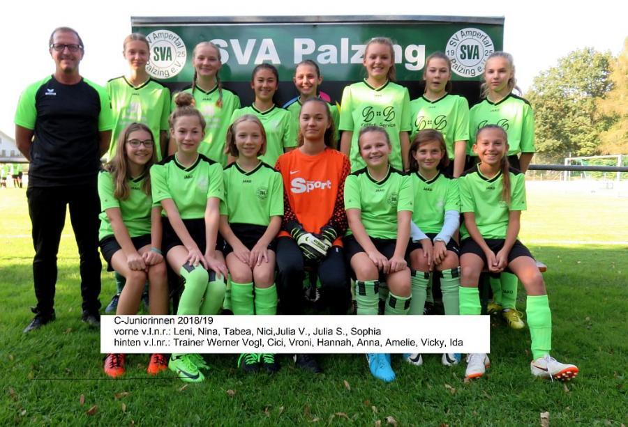 Mädchenmannschaft 2018/2019