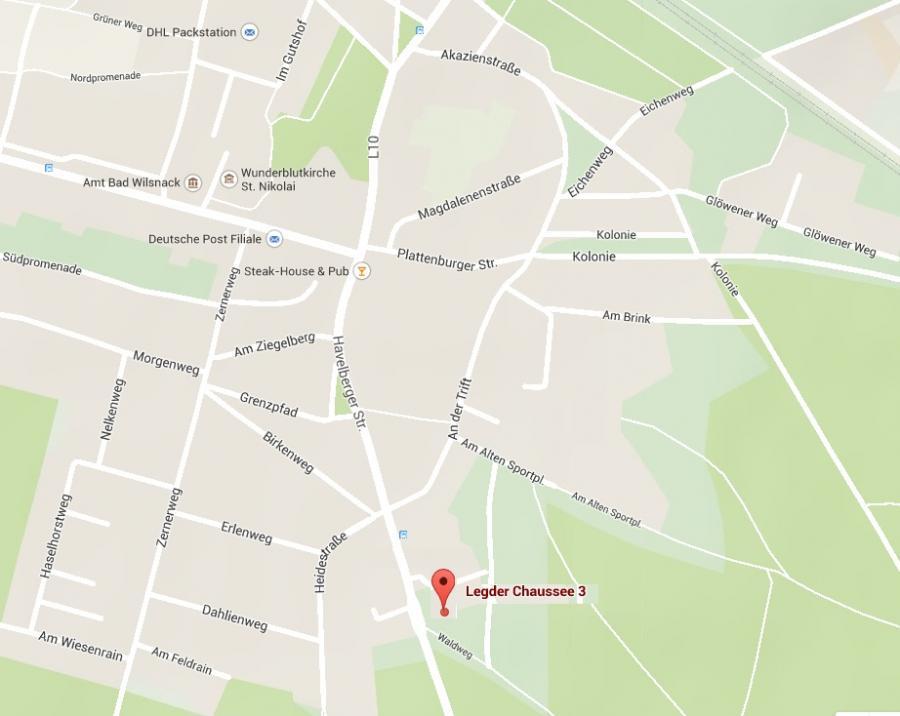 maps Legder Chausse